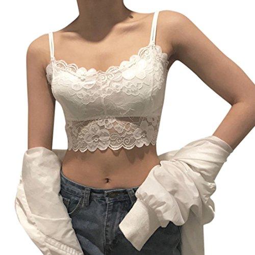 ZahuihuiM Damen Fashion Lace Strap Wrapped Brust Shirt Tops T-Shirt Bluse Unterwäsche Bodysuits Versuchung Bodys Temptation Damenunterwäsche Weiß s0BgJE86