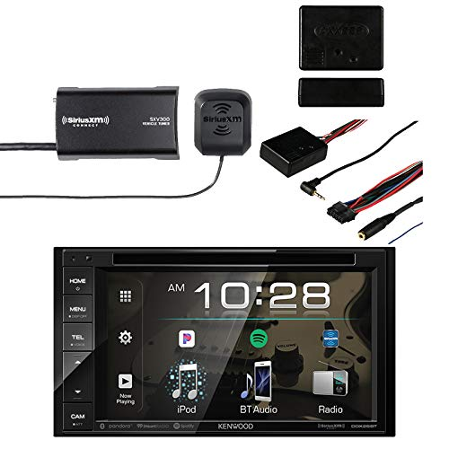 Kenwood DDX26BT Multimedia Bluetooth Receiver with Sirius SXV300v1 on