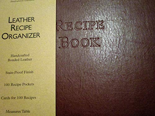 Gallery Leather Recipe Organizer Camden ()