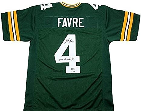 1a1f1458 Signed Brett Favre Jersey - Custom Home - Autographed NFL Jerseys at ...