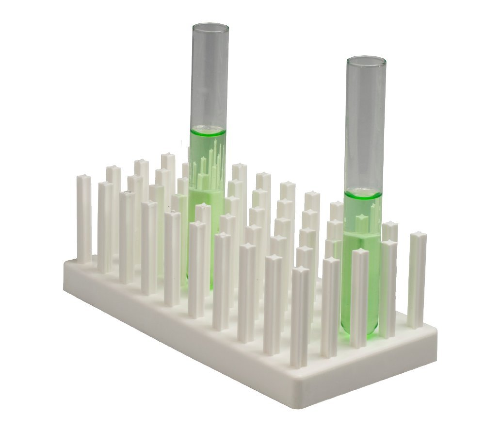 6/ Neolab 2354/ Test Tube Rack/ /–/ 3/ x 10/ in, Polypropylene