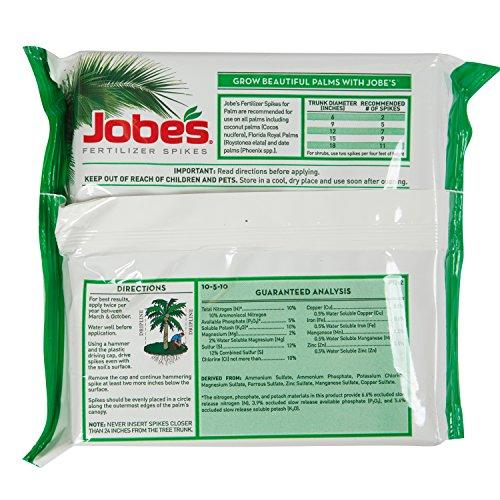 jobes fertilizer spikes instructions