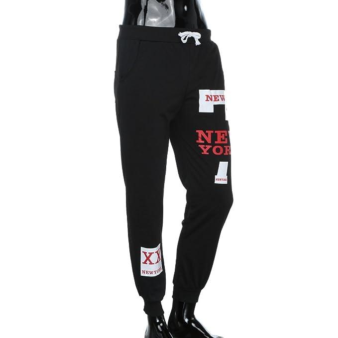 Pantalones Chándal Sueltos Ocasionales Personalidad Hombre ...