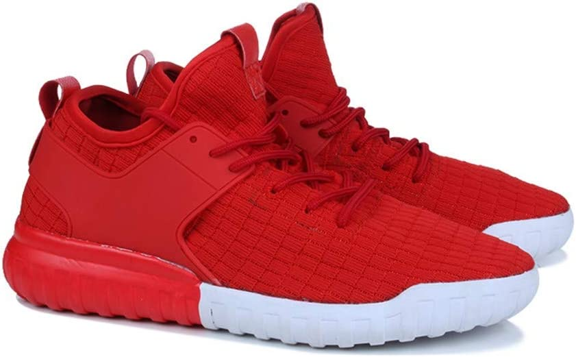 Dacawin Casual Mens Sneakers Lightweight Breathable Wear-Resistant Fashion Sport Woven Shoes