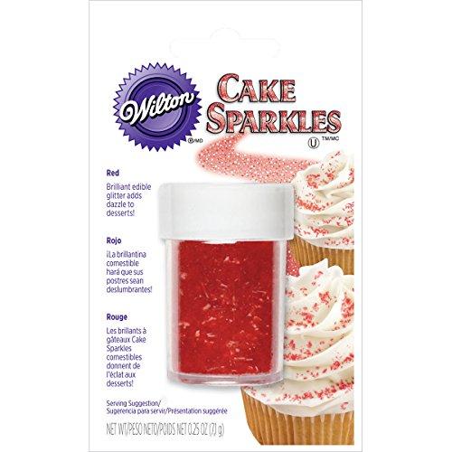 Wilton Red Cake Sparkles