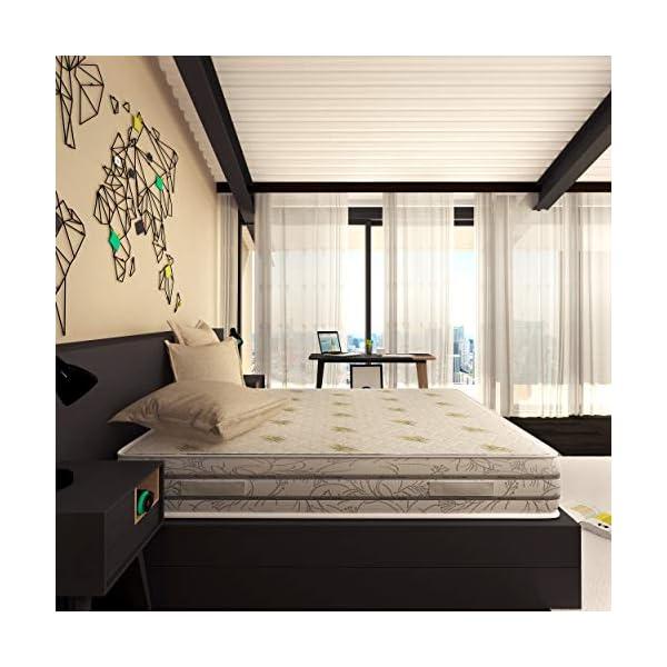 Baldiflex Materasso Memory Easy Super Top Matrimoniale con Rivestimento in Aloe Vera, Misura 160x190x23 cm 7 spesavip