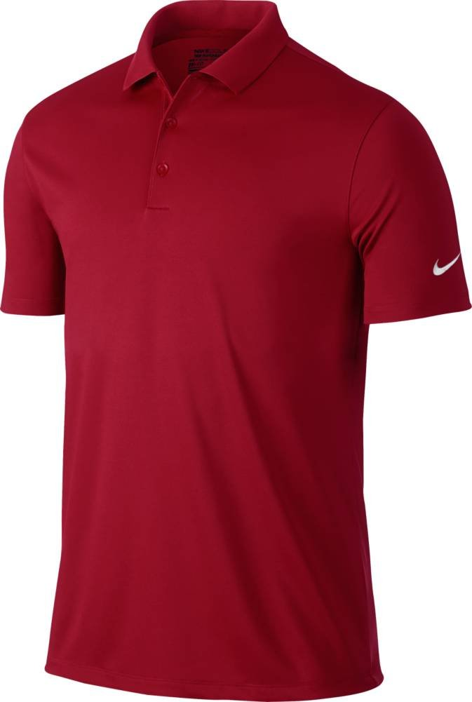 Nike Golf Victory Solid Polo (Gym Red/White) (2XL)