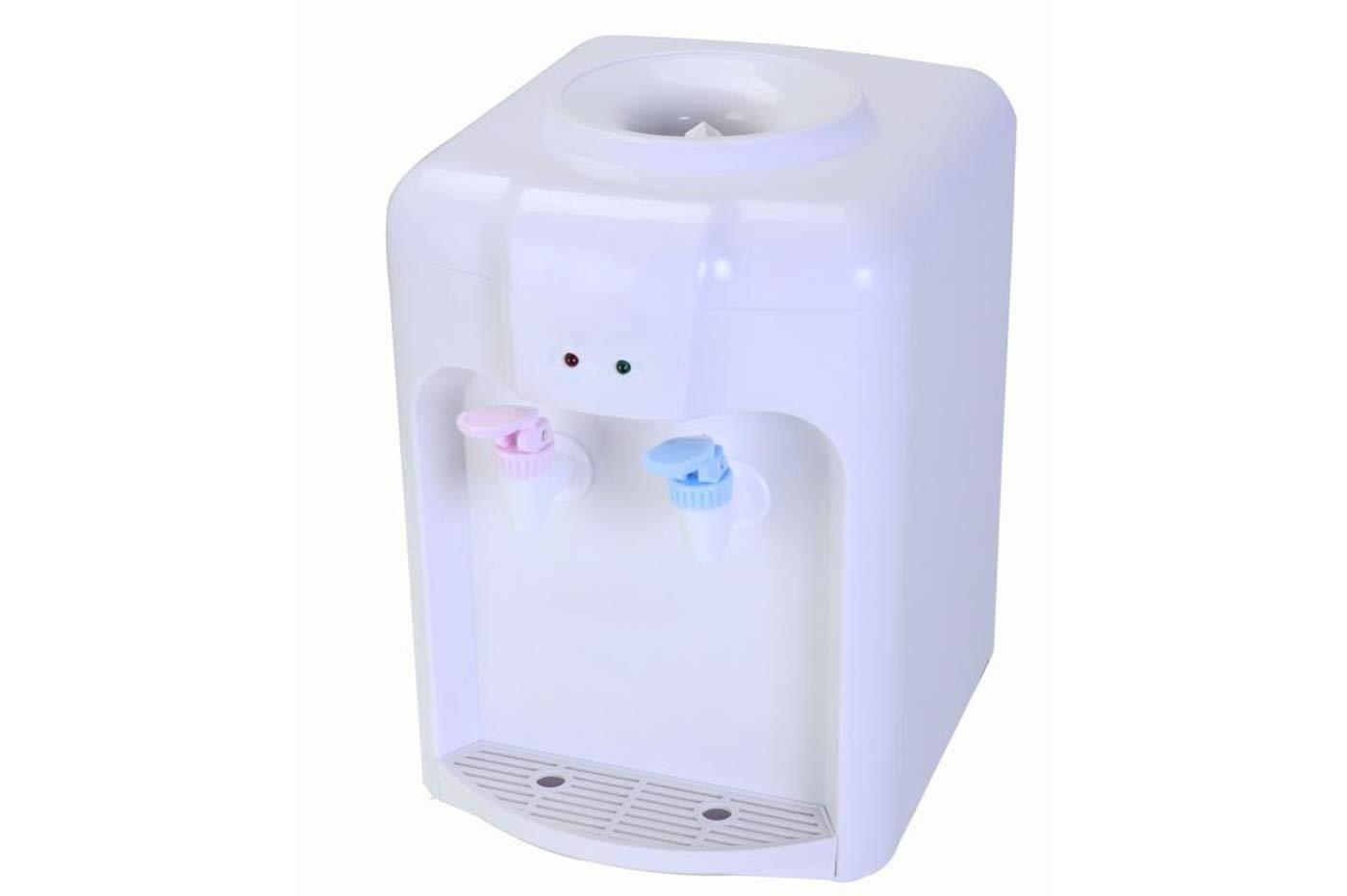 takestop® dispensador dispensador Eléctrico Doble dosificador Agua Caliente fría con Depósito boccione 2 litros de plástico 33.8 x 22 x 28.5 cm: Amazon.es: ...
