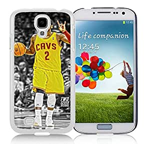 Samsung Galaxy S4 Cleveland Cavaliers kyrie Irving White Screen Cellphone Case Personalized and Unique Cover