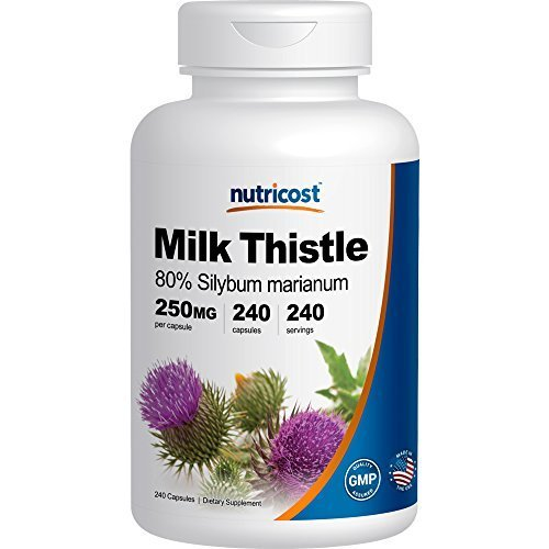 Nutricost Milk Thistle 250mg; 240 Capsules
