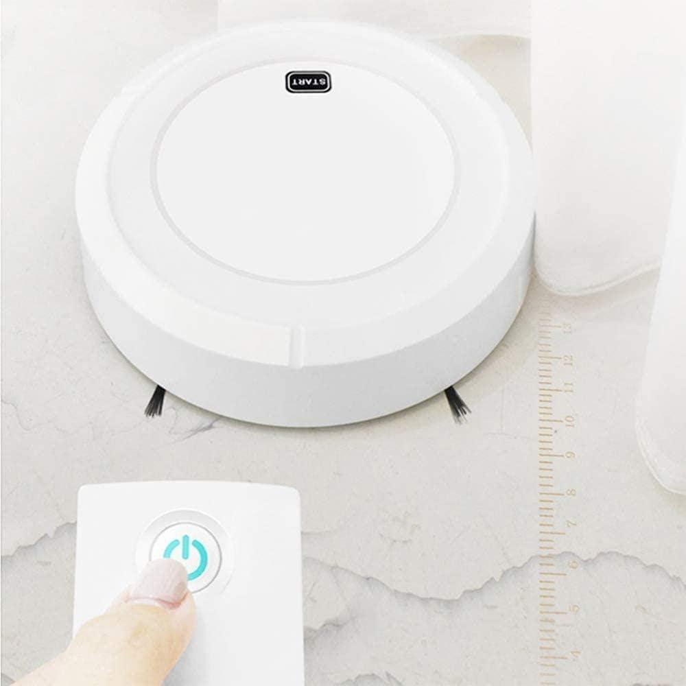 BRISEZZ Robot Faule avec chargeur automatique Noir/blanc Blanc Blanc