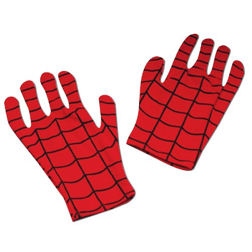 [Disguise Marvel Spider-Man Child Gloves Costume Accessory, One Size Child] (Baby Girl Marvel Costumes)