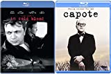 Truman Capote Film Collection - In Cold Blood + Capote Philip Seymour Hoffman Blu Ray Double Feature Bundle