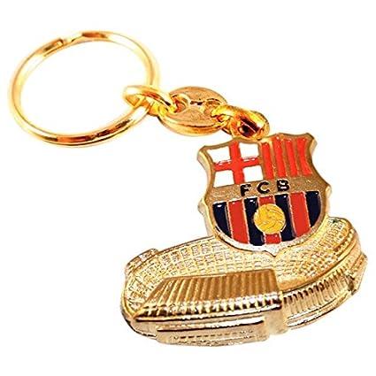 Amazon.com : Full 90 Llavero FC Barcelona Escudo Camp NOU ...