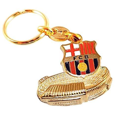 e5efc3f8d9486 Llavero FC Barcelona escudo Camp Nou  Amazon.es  Juguetes y juegos