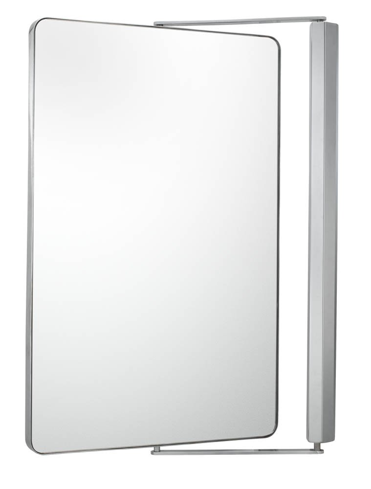Amazon Aptations 33041 Sergena Metro Pivot Mirror Chrome Home Kitchen