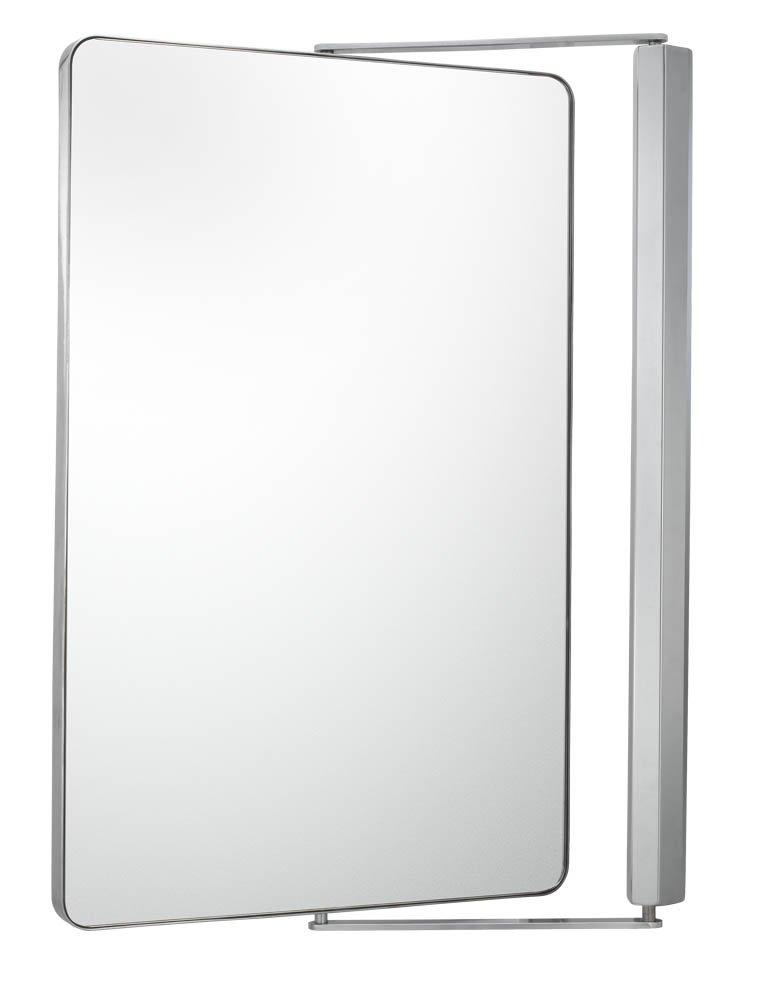 Amazon Aptations 33071 Sergena Metro Pivot Mirror Brushed Nickel Home Kitchen