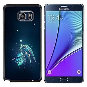 LECELL--Funda protectora / Cubierta / Piel For Samsung Galaxy Note 5 5th N9200 -- Resumen Galaxy --