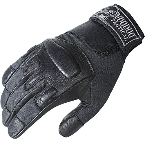 Voodoo Leather - VooDoo Tactical 20-9079001097 Intruder Gloves, Black, 2XL