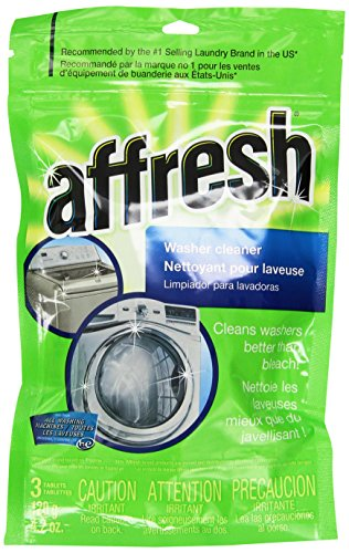 Whirlpool - Affresh High Efficiency Washer Cleaner - 9 (Laundry Machine Cleaner)