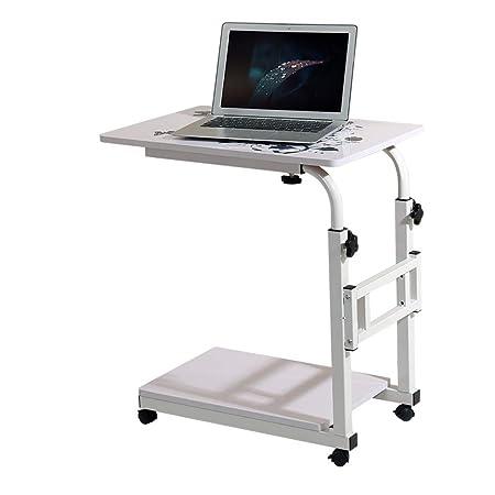PPOSH Cama Simple portátil portátil Mesa Escritorio de Escritura ...