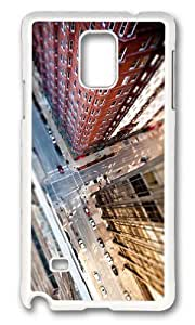 Adorable city streets tilt shift Hard Case Protective Shell Cell Phone For Case Ipod Touch 4 Cover - PC White