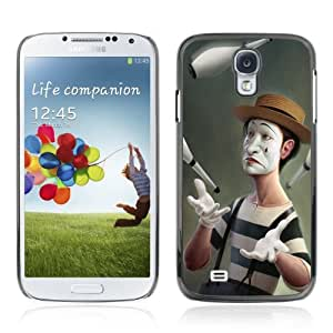 Designer Depo Hard Protection Case for Samsung Galaxy S4 / Meme Clown Art