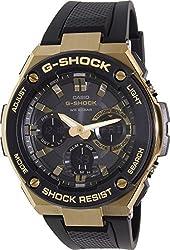 Casio Men's G-Shock GSTS100G-1A Black Resin Quartz Watch