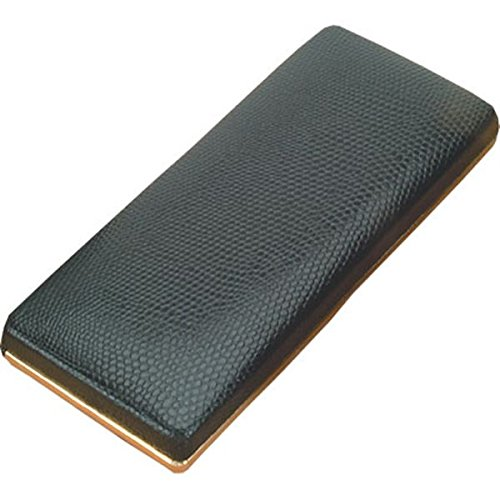 Pen Presentation Case, Black Leatherette w/Black Velvet Interior