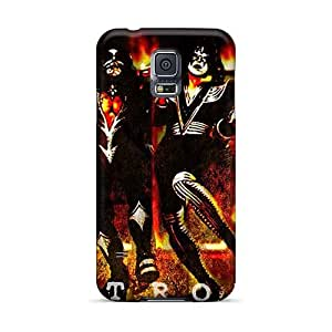 DannyLCHEUNG Samsung Galaxy S5 Protective Cell-phone Hard Cover Support Personal Customs Vivid Bon Jovi Skin [iBc17208bESq]