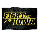 Iowa Hawkeyes Fight For Iowa Flag For Sale