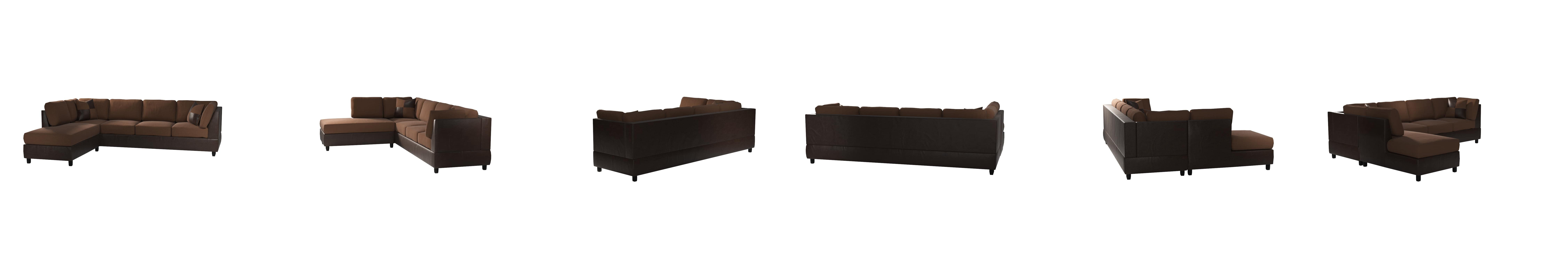 Amazon Homelegance 9909CH fort Living Sectional Collection