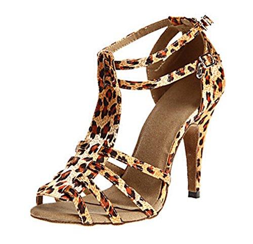 Miyoopark - salón mujer Leopard-10cm heel