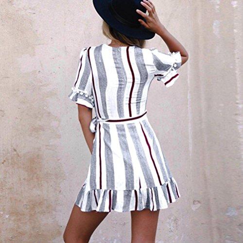 99079db42 LAND-FOX Falda Vestir Mujer Falda Plisada