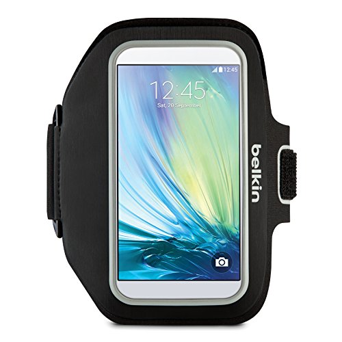 - Belkin Sport-Fit Plus Armband for Galaxy S6 and Galaxy S6 Edge (Black)