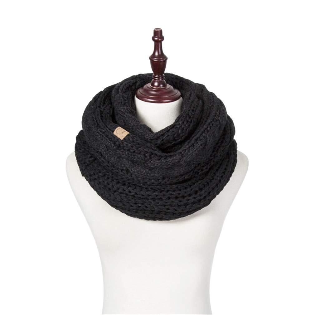 Bufanda para Mujeres cálido señoras Largo Punto Bufanda chales ...