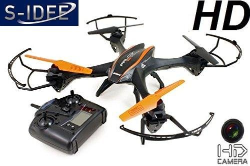 s-idee® 01117 U816A - Cuadricóptero teledirigido (4,5 canales, 2,4 GHz, con giroscopio)
