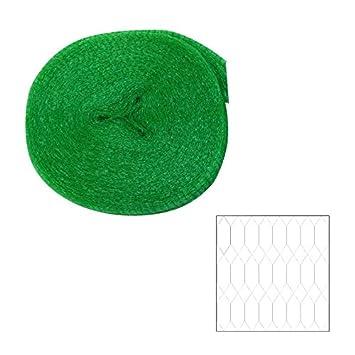 Vogelschutznetz 2x10m 8x8mm Teichnetz Laubschutznetz Polyethylen Schutznetz Netz
