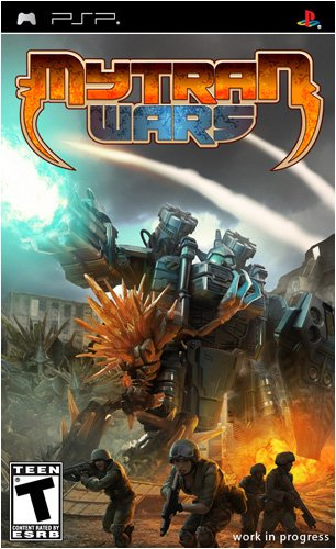Psp Silver Video Game - Mytran Wars - Sony PSP