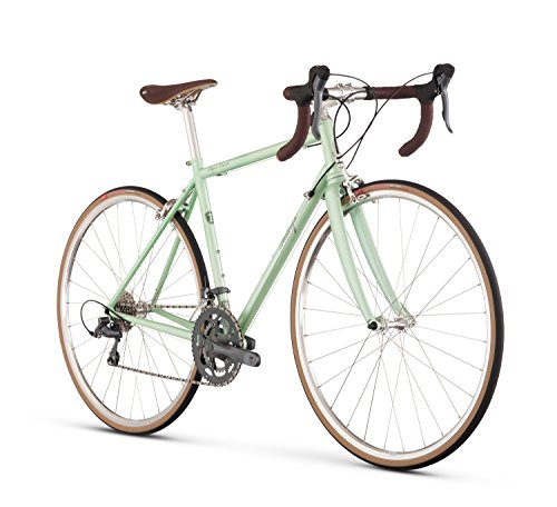 Raleigh Bikes Women's Super Course Endurance Road Bike, Green, 56cm/Large