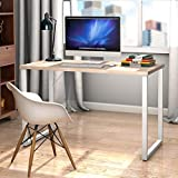 Tangkula 47' Computer Desk Writing Table, PC Laptop Office Desk, Study Writing Modern Table, Modern Simple Writing Desk, Multipurpose Workstation for Home and Office, Gaming Computer Desk