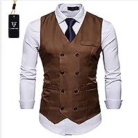Cyparissus Mens Vest Waistcoat Men's Suit Dress Vest for Men Tuxedo Vest