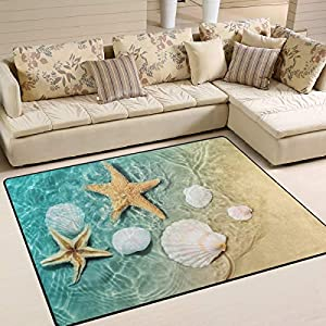 51CUY8TFmRL._SS300_ Starfish Area Rugs For Sale