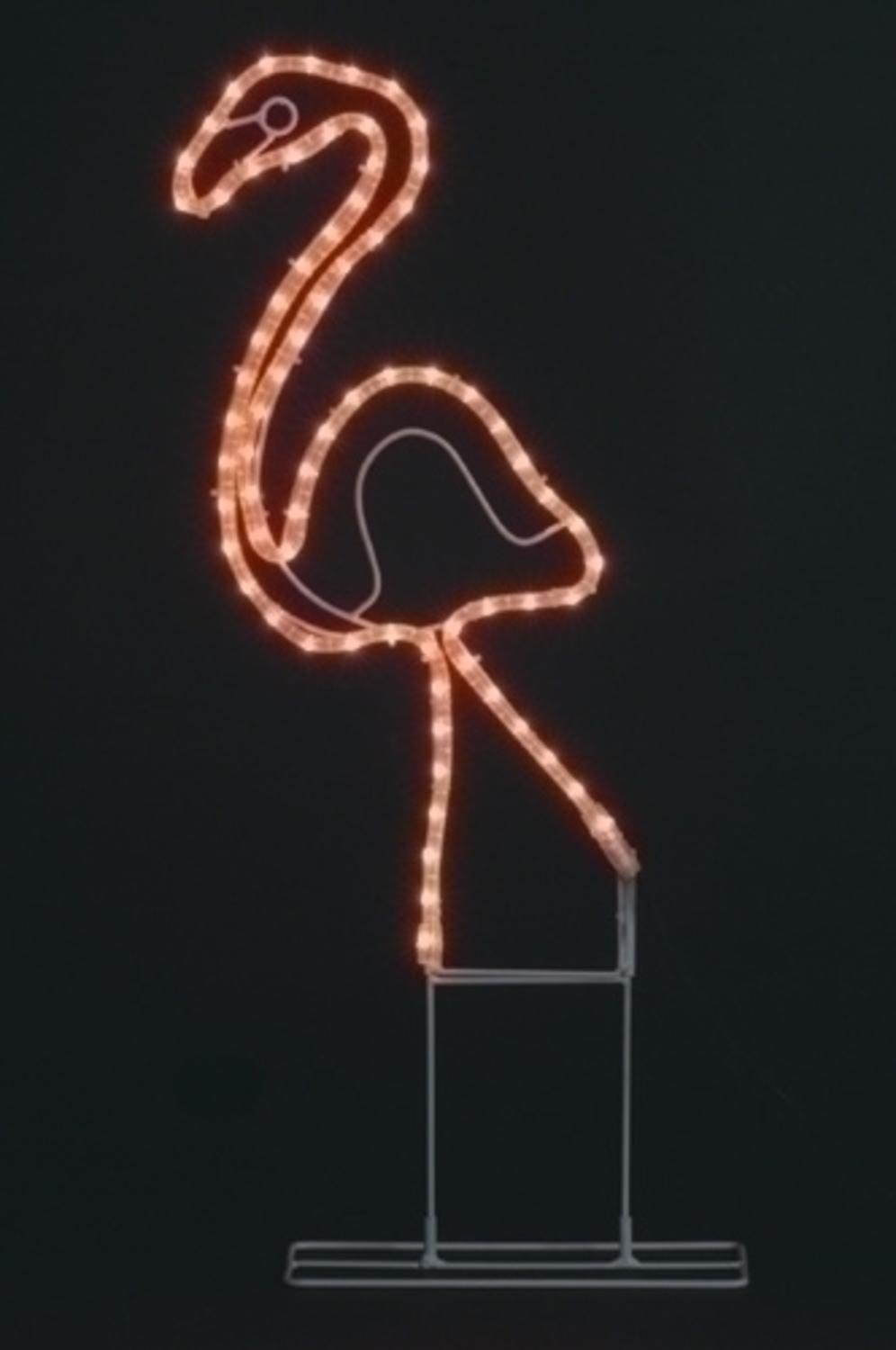 Northlight Tropical Lighted Pink Flamingo Rope Light Outdoor Yard Art Decoration, 24'' by Northlight (Image #2)