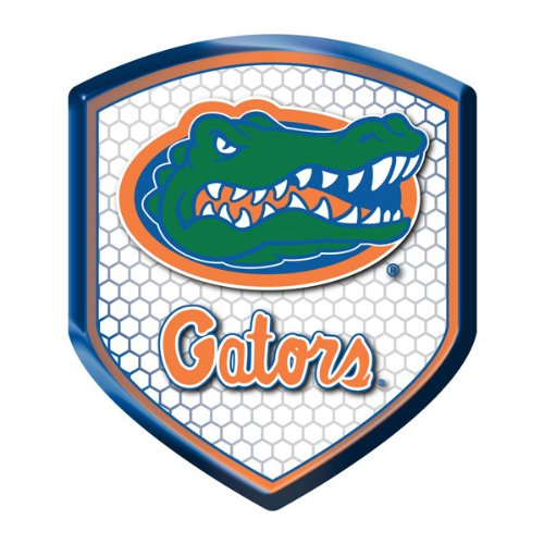 Florida Gators Faceplate (Florida Gators NCAA Reflector Decal Auto Shield for Car Truck Mailbox Locker Sticker College Licensed Team Logo)