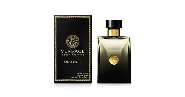 b7bf377b0 Versace Pour Homme Oud Noir by Versace for Men - Eau de Parfum, 100ml:  Amazon.ae