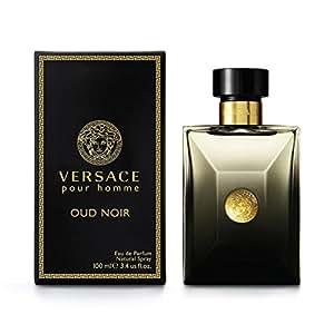 Versace Pour Homme Oud Noir by Versace for Men - Eau de Parfum, 100ml