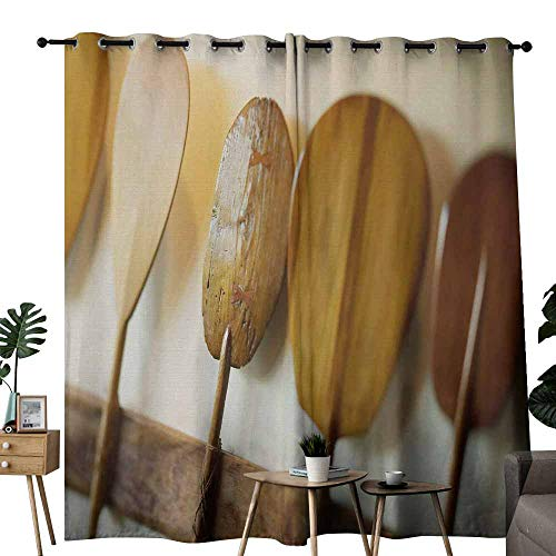 (duommhome Kids Room Curtains Paddle Privacy Protection W96 x L84 Classical)