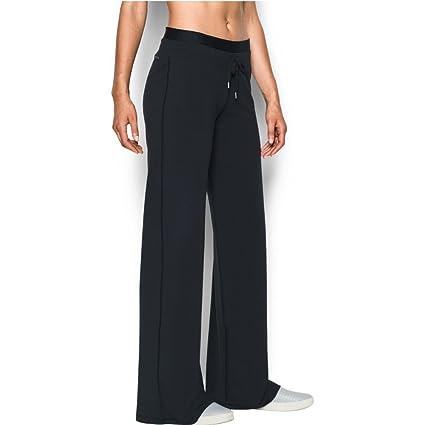 887bc487 Buy Women's Under Armour Favorite Wide Leg Pant, Black, Small Short ...