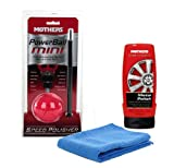 Mothers Powerball Mini Speed Polisher Plus Metal Polish & Microfiber Cloth Combo Pack
